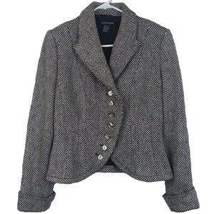 Boston Proper tweed blazer size 10